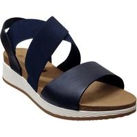 Zapatos Mujer Sandalias Plakton Speed tor Cuero azul marino