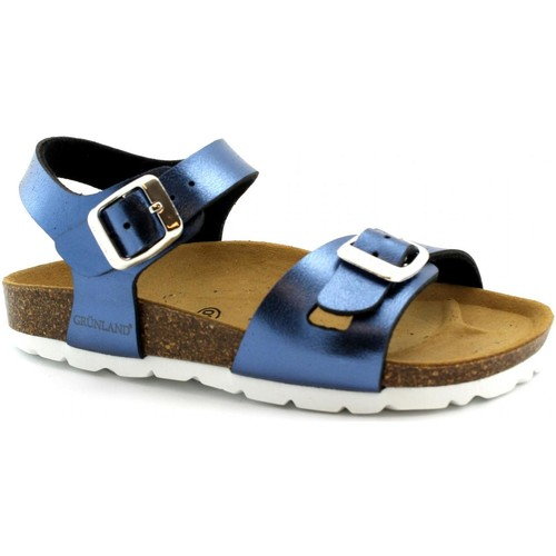 Zapatos Niña Sandalias Grunland GRU-E19-SB0393-BL-a Blu