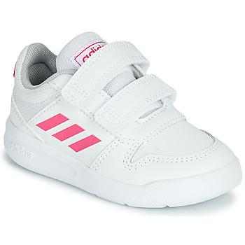 Zapatos Niña Zapatillas bajas adidas Performance VECTOR I Blanco / Rosa