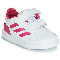 Zapatos Niña Zapatillas bajas adidas Performance ALTASPORT CF I Blanco / Rosa