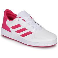 Zapatos Niña Zapatillas bajas adidas Performance ALTASPORT K Blanco / Rosa
