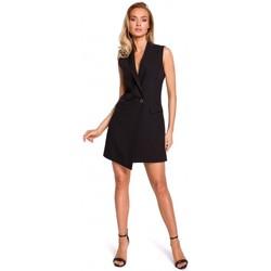 textil Mujer Chaquetas Moe M439 Vestido de chaqueta sin mangas - negro