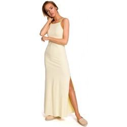 textil Mujer Tops / Blusas Moe M432 Maxi vestido de algodón con tirantes - amarillo