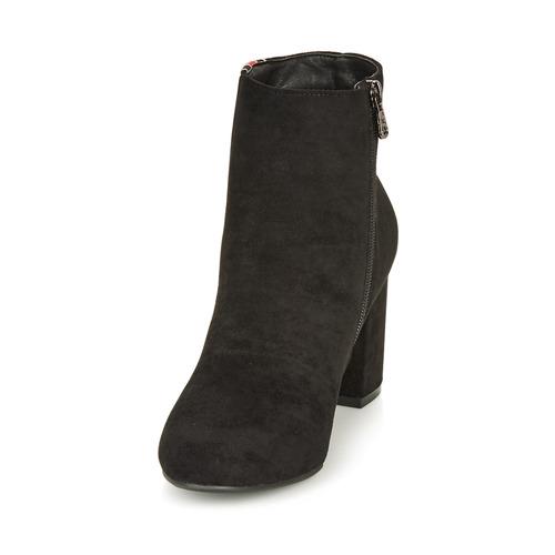 Botines 69113 Zapatos Refresh black Negro Mujer nw80OXNPk