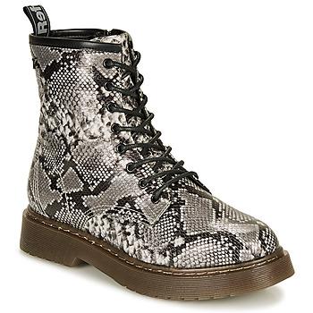 Zapatos Mujer Botas de caña baja Refresh 69311-BLACK Gris