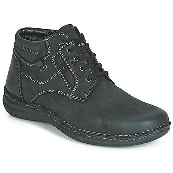 Zapatos Hombre Botas de caña baja Josef Seibel ANVERS 35 Negro