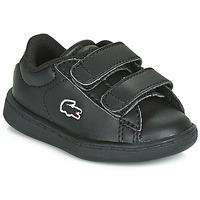 Zapatos Niños Zapatillas bajas Lacoste CARNABY EVO BL 3 SUI Negro