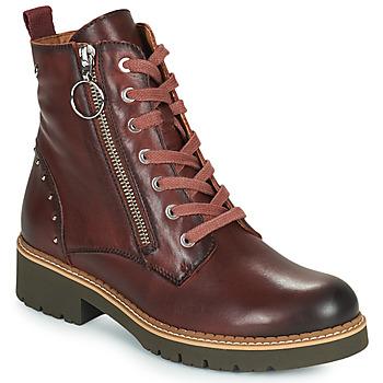 Zapatos Mujer Botas de caña baja Pikolinos VICAR W0V Marrón
