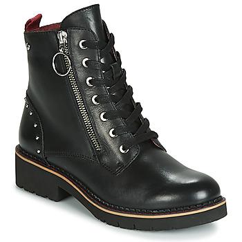 Zapatos Mujer Botas de caña baja Pikolinos VICAR W0V Negro