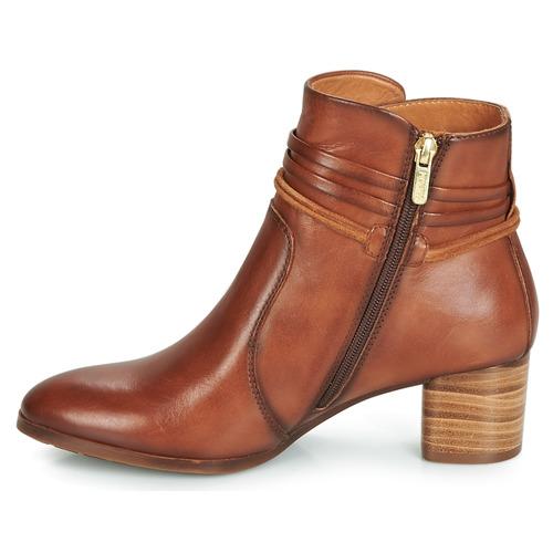 W1z Calafat Marrón Zapatos Botines Pikolinos Mujer 5jqc34ASLR