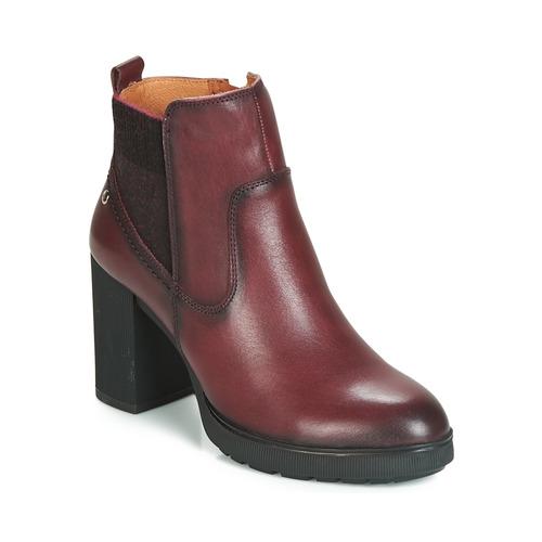 Zapatos Botines W4z Pikolinos Sagunto Mujer Marrón DWEIH9Y2