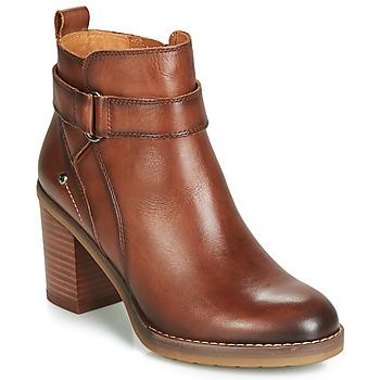 Zapatos Mujer Botines Pikolinos POMPEYA W9T Marrón