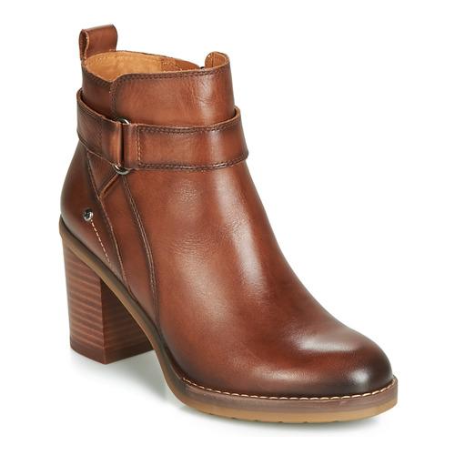 Marrón Zapatos Pikolinos W9t Mujer Botines Pompeya b7fgyY6
