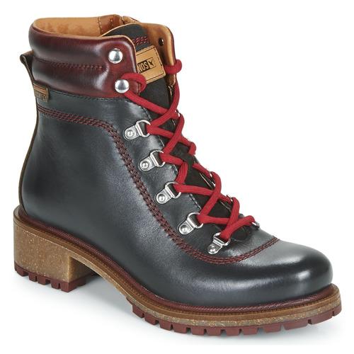 Zapatos Mujer Botas de caña baja Pikolinos ASPE W9Z Negro