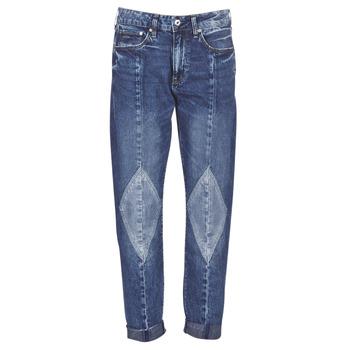 textil Mujer Vaqueros boyfriend G-Star Raw 3301-L MID BOYFRIEND DIAMOND Azul / Light / Vintage / Envejecido