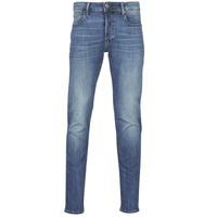 textil Hombre Vaqueros slim G-Star Raw 3301 SLIM Azul / Vintage / Medium / Envejecido