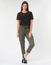 textil Mujer Pantalones con 5 bolsillos G-Star Raw CHISEL BF PANT WMN Kaki