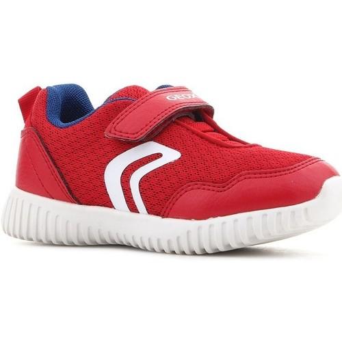 Zapatos Niños Zapatillas bajas Geox B Waviness B.B B822BB 014BU C7213 rojo