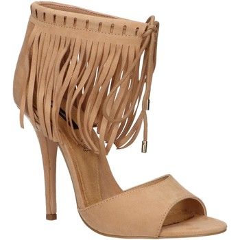Zapatos Mujer Sandalias MTNG 53892 Beige