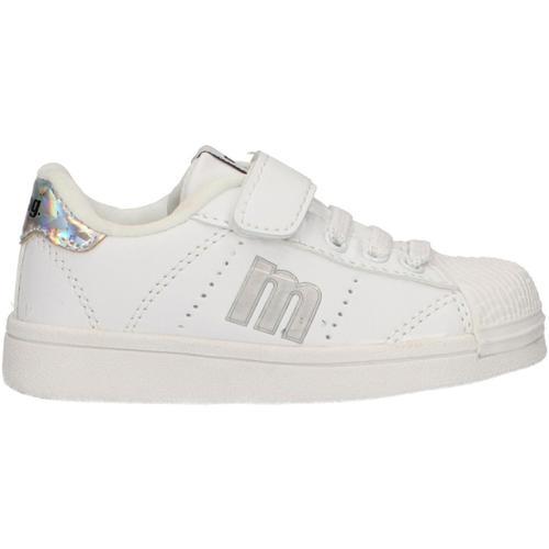 Zapatos Niños Zapatillas bajas MTNG 47600 Blanco