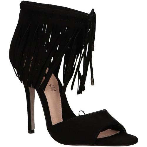Zapatos Mujer Sandalias MTNG 53892 Negro