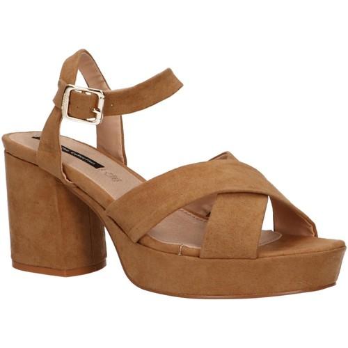 Zapatos Mujer Sandalias MTNG 50079 Marr?n