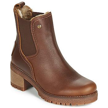 Zapatos Mujer Botines Panama Jack PIA Marrón
