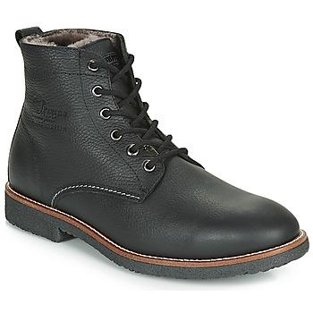 Zapatos Hombre Botas de caña baja Panama Jack GLASGOW Negro