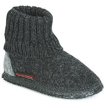 Zapatos Hombre Pantuflas Giesswein KRAMSACH Antracita