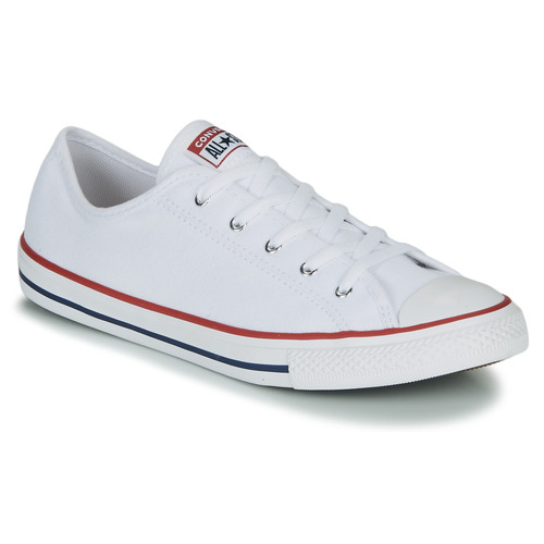 Zapatos Mujer Zapatillas bajas Converse CHUCK TAYLOR ALL STAR DAINTY GS  CANVAS OX Blanco