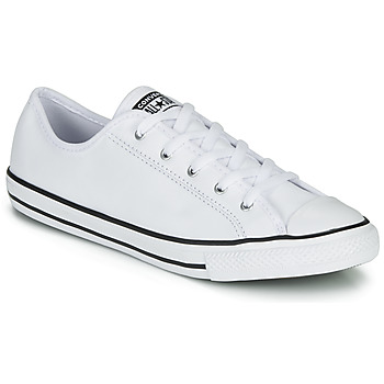 Zapatos Mujer Zapatillas bajas Converse CHUCK TAYLOR ALL STAR DAINTY GS  LEATHER OX Blanco