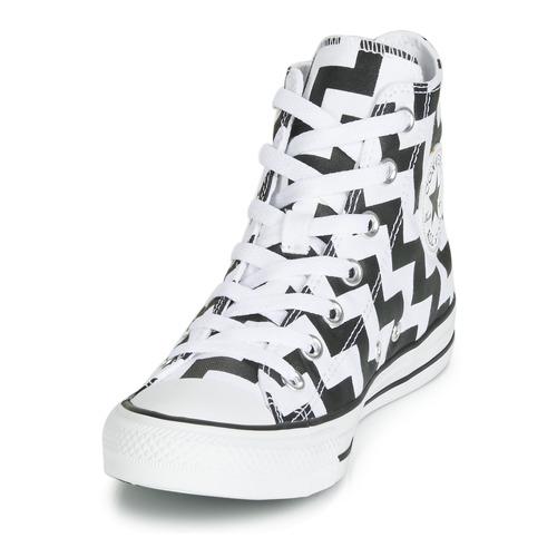 Star Chuck Dunk Canvas Mujer NegroBlanco Altas Taylor Zapatos All Zapatillas Glam Hi Converse xorBedC
