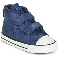 Zapatos Niños Zapatillas altas Converse STAR PLAYER 2V ASTEROID LEATHER HI Azul