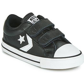 Zapatos Niños Zapatillas bajas Converse STAR PLAYER EV 2V  LEATHER OX Negro