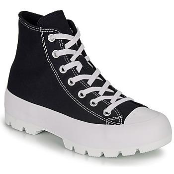 Zapatos Mujer Zapatillas altas Converse CHUCK TAYLOR ALL STAR LUGGED HI Negro