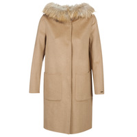 textil Mujer Abrigos Oakwood YALE BI Camel / Gris