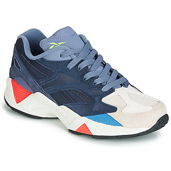 Zapatos Zapatillas bajas Reebok Classic AZTREK 96 Gris / Azul