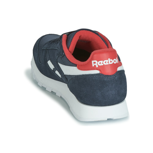Zapatillas Zapatos Mu Leather Classic Cl MarinoRojo Reebok Bajas PXuTiwOZk