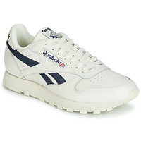 Zapatos Zapatillas bajas Reebok Classic CL LEATHER MU Blanco / Negro