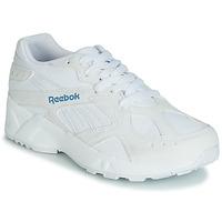 Zapatos Mujer Zapatillas bajas Reebok Classic AZTREK Blanco / Azul