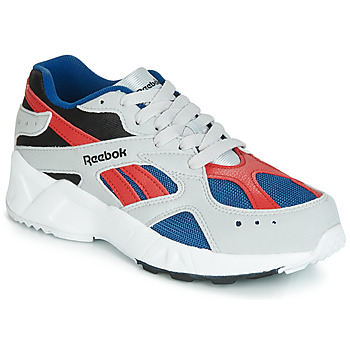 Zapatos Niño Zapatillas bajas Reebok Classic AZTREK J Gris / Rojo