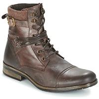 Zapatos Hombre Botas de caña baja Casual Attitude RIVIGH Marrón