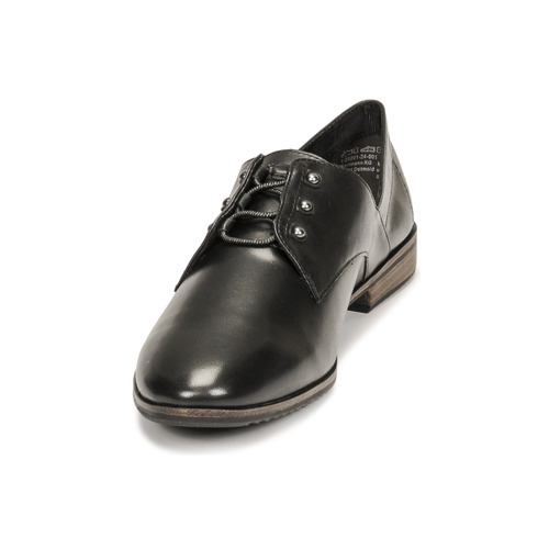 Tamaris Zapatos Negro Derbie Mujer Lyna 7vgYf6by