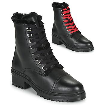 Zapatos Mujer Botas de caña baja Unisa IRACHE Negro