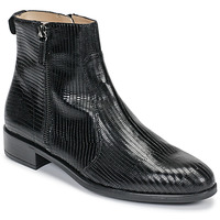 Zapatos Mujer Botas de caña baja Unisa BRAS Negro