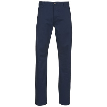 textil Hombre pantalones chinos Dockers ALPHA KHAKI SLIM TAPERED STRETCH TWILL      Marino
