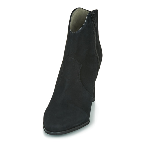 Mujer Negro Patina Myma Botines Zapatos n80wvmNO