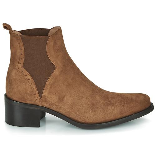 Palma Cognac Botines Myma Zapatos Mujer zMjLUpqSGV