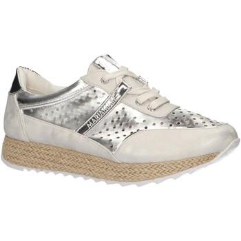Zapatos Mujer Zapatillas bajas Maria Mare 66997 Plateado