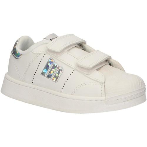 Zapatos Niños Zapatillas bajas MTNG 84407 Blanco